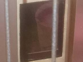 Cat Door Frame
