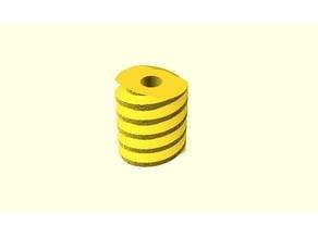 Parametrische Schnecke / Parametric Worm