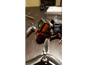 Runcam 3 mount for Flamingo RC Dragon HX'5