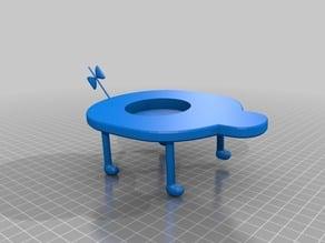 mr saturn table amiibo stand