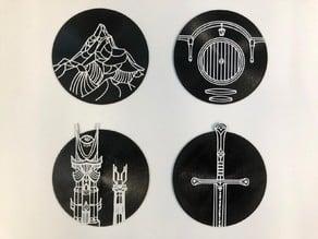 LOTR Coasters