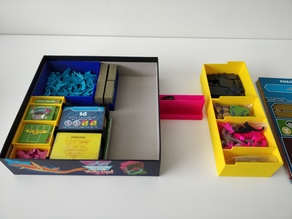 Expansion Boxes for All The Way Down Insert (Dinosaur Island)