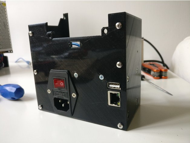 Anet A8 Psu Cover With Switch Relays Fan And Octoprint By