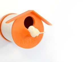 Tin can Bird house by Samuel Bernier, Project RE_