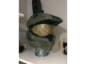 High Detail Visor for Halo 4 Helmet Full Size A