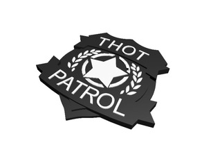 Thot Patrol Badge