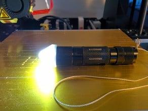 Parametric Torch / Flashlight Diffuser