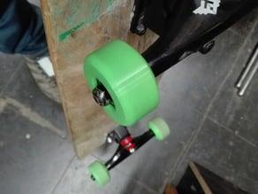 3d Printed Skateboard Wheel - Ninjaflex (TPE)