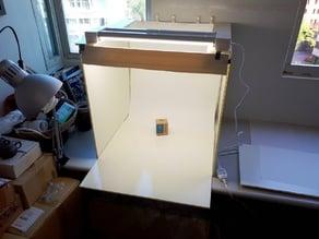 Bracket for Ceiling Panel Lightbox