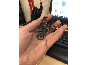 enduro MOTO Key Chain