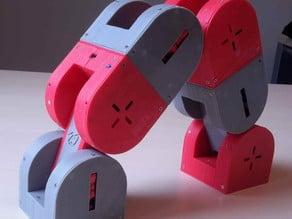 Dtto v1.0 Robot- Modular self-reconfigurable robot