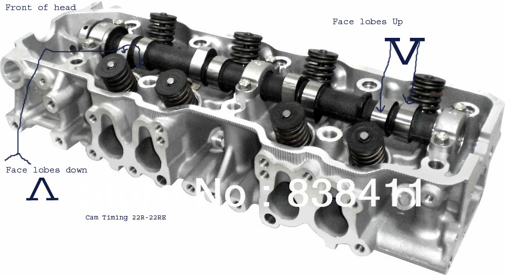 Toyota 4 Cylinder Engine 22RE, Complete working model by ALM7377