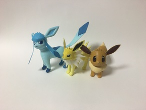 Collecting Eevee and Eevolutions (On Hold)