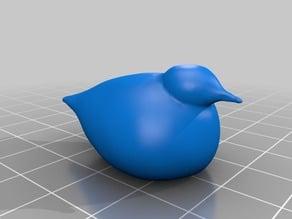 """Glass"" Bird inspired by Iittala"