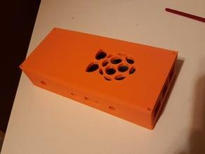rasbperry case + 2 relais