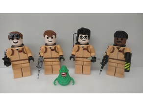Giant Lego Ghostbusters