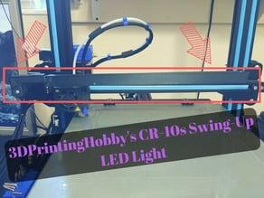 CR-10s swing-up LED light