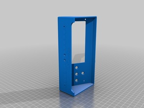 LCD mount for p3steel