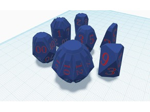 Numbers for Fractal Dice