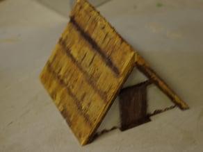 Saxon Burh A frame hut