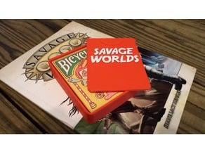 Savage Worlds Card Deck Case