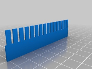 16-well gel electrophoresis combs