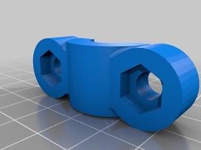 """RAM mount 1"""" ball to 1/2(~13mm) handlebar mount"""