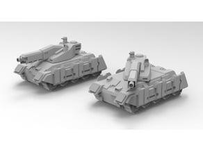 Battletech Schildkröte Line Tank