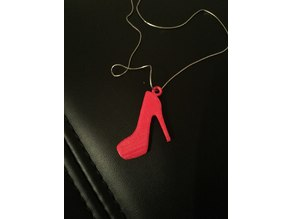 High heel pendant