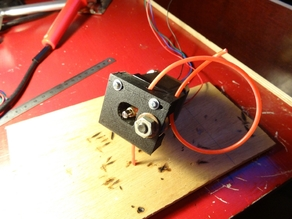 One Piece Simple Direct Drive Extruder