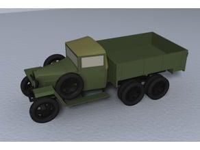 GAZ-AAA wartime truck 1:87 (H0)