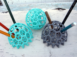 Buckyball Pencil Holder
