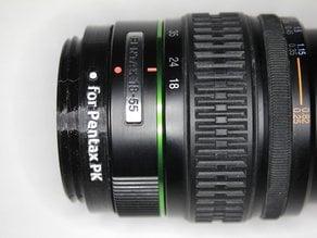 Pentax PK mount lens adapter for GuerillaBeam