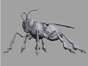 Mechanical Robot Bee