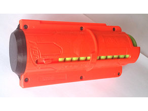 Nerf Vortex charger modification (from 10 to 12)