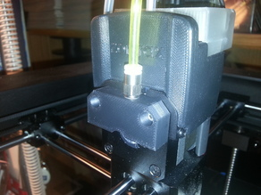 Zortrax active cooling of extruder gear