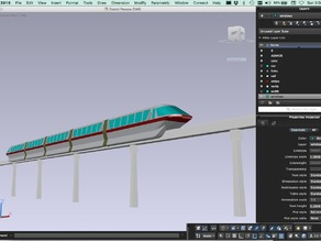 Disneyland Monorail (Mark V)