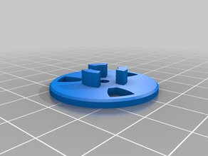 Filament Pulley Guide with 693 bearing