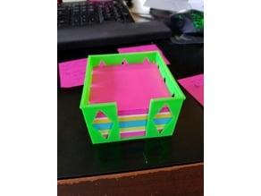 post it cube holder