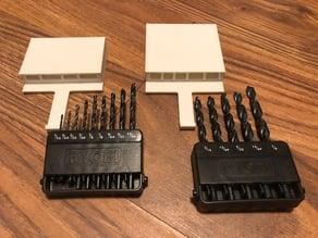 Ryobi Black Oxide drill bit small case