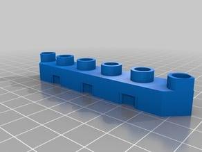 Diagonal Duplo Bricks