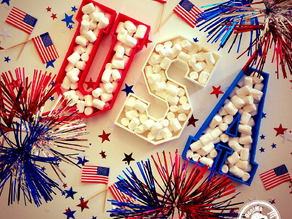 USA Plates (4th of July Special Edition)