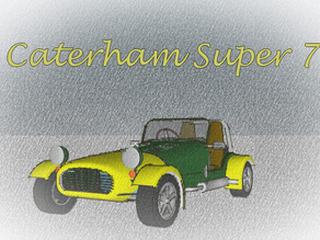Caterham Super Seven 7 car for #WeLoveCars collection by whatakuai