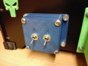 Switch box for CTC 3D printer / or similarly model