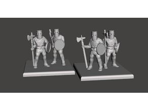 15mm HotT Knights of Serbia - Rebase