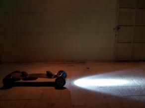 Soporte Longboard Luz Bicicleta
