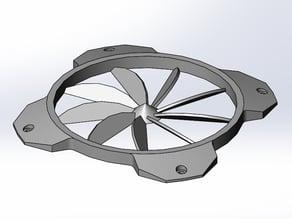140mm PC Fan Turbine Grill
