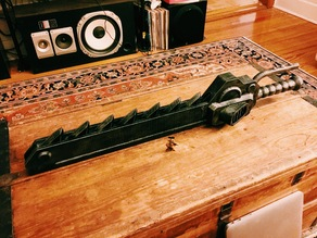 Z18 Warhammer 40k Chainsword - supportless assembly