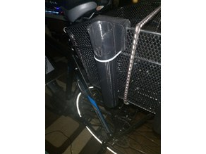 Bike Basket Fishing Rod Holder