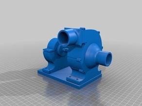 Powerful 3d printed Water-pump